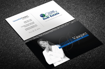 United country real estate business cards free shipping modern white united country business card reheart Gallery